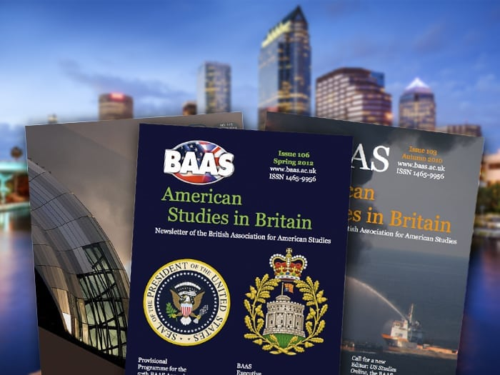 American Studies in Britain, The BAAS Newsletter, British Association for American Studies